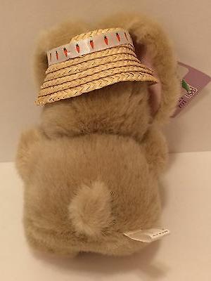 Rabbit Spring Plush ~ Carrot Hat -