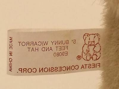 FIESTA Rabbit ~ Paws, Straw Hat -