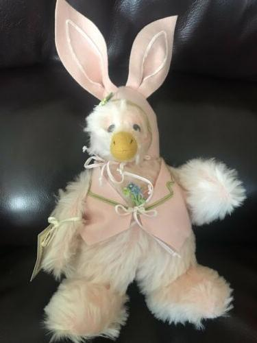 "1998 BUNNIES BY THE BAY ""EMERSON HOPPITY"" BUNNY DUCK, NWT 148/200 Easter"