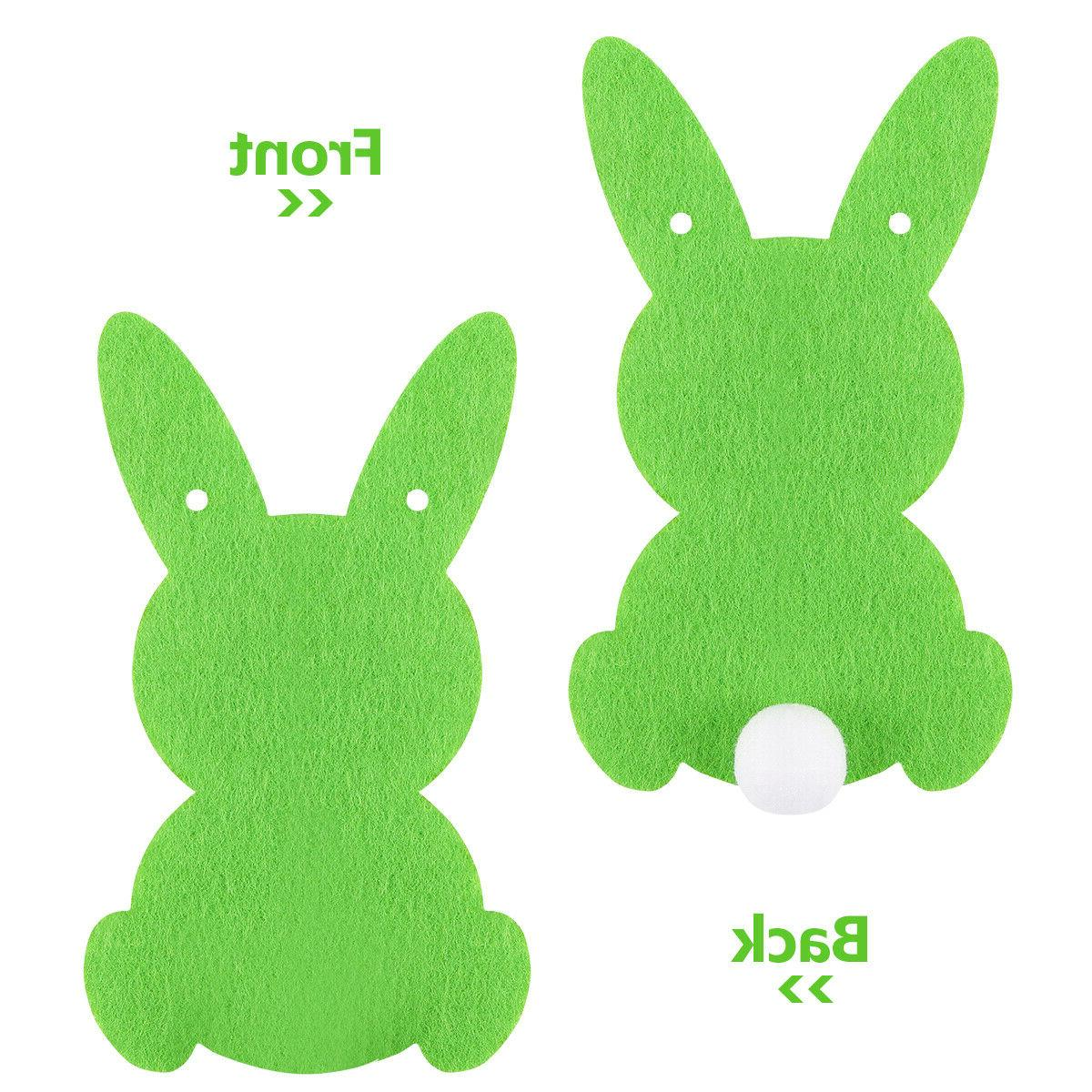 BESTOYARD 2.5 Shape Easter Bunny Decoration for