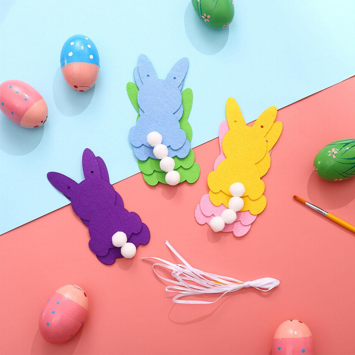 BESTOYARD Shape Easter Bunny Decoration Party