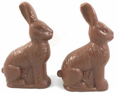 "2 Fake Bunny Rabbit Candy 6.25"""