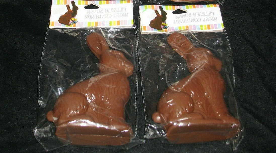 20 fake chocolate bunny rabbit shaped easter