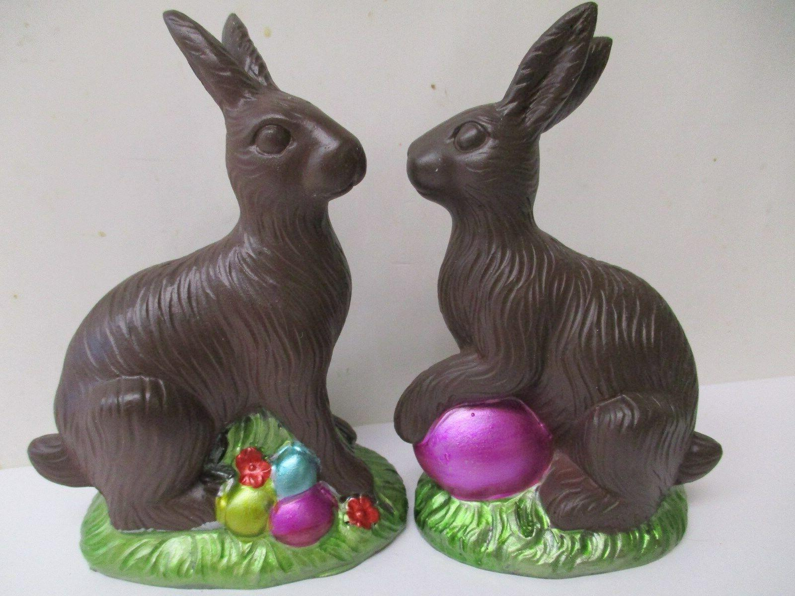 2 pc set easter faux classic chocolate