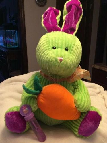 "2008 EASTER BUNNY Plush Stuffed Animal NWOT 20"" Sugar Loaf N"