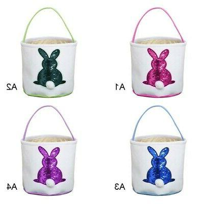 4 Easter Egg Basket Printed Gift Candy-Bag