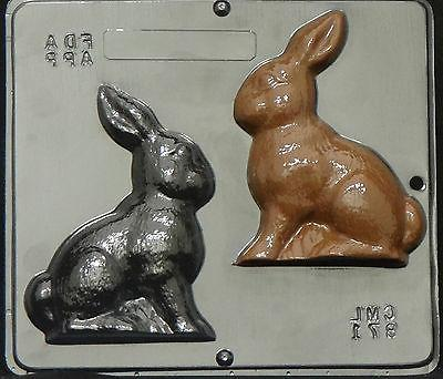 5 1/4' Bunny Assembly Chocolate Candy Mold Easter  871 NEW