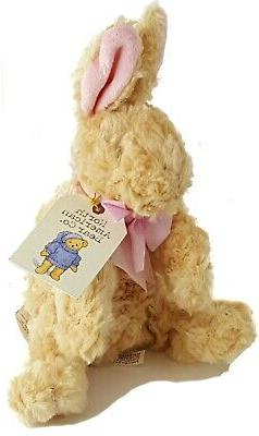"7"" plush WITTLE WABBIT North American Bear Company stuffed r"