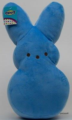 "Peeps 17""  Blue Plush Bunny Stuffed Rabbit Great for Easter"