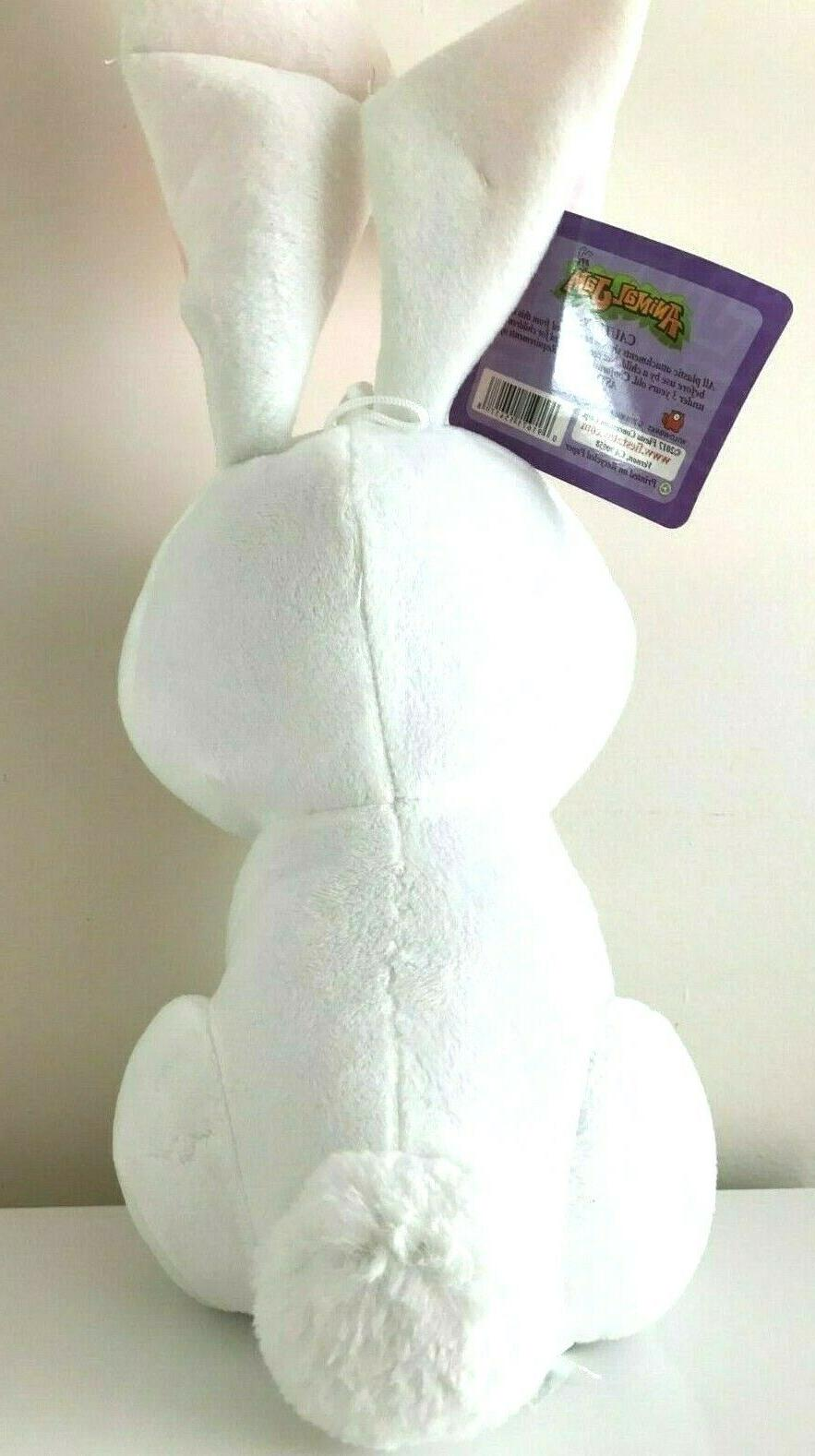 Animal Jam XLarge 22'' Bunny. White Animal New