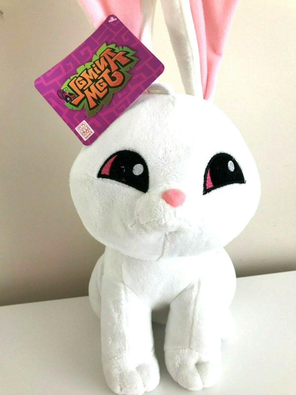 animal jam plush xlarge 22 bunny white