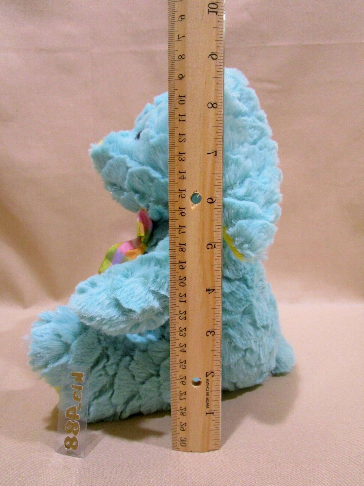 Aqua yellow Bunny Stuffed Baby