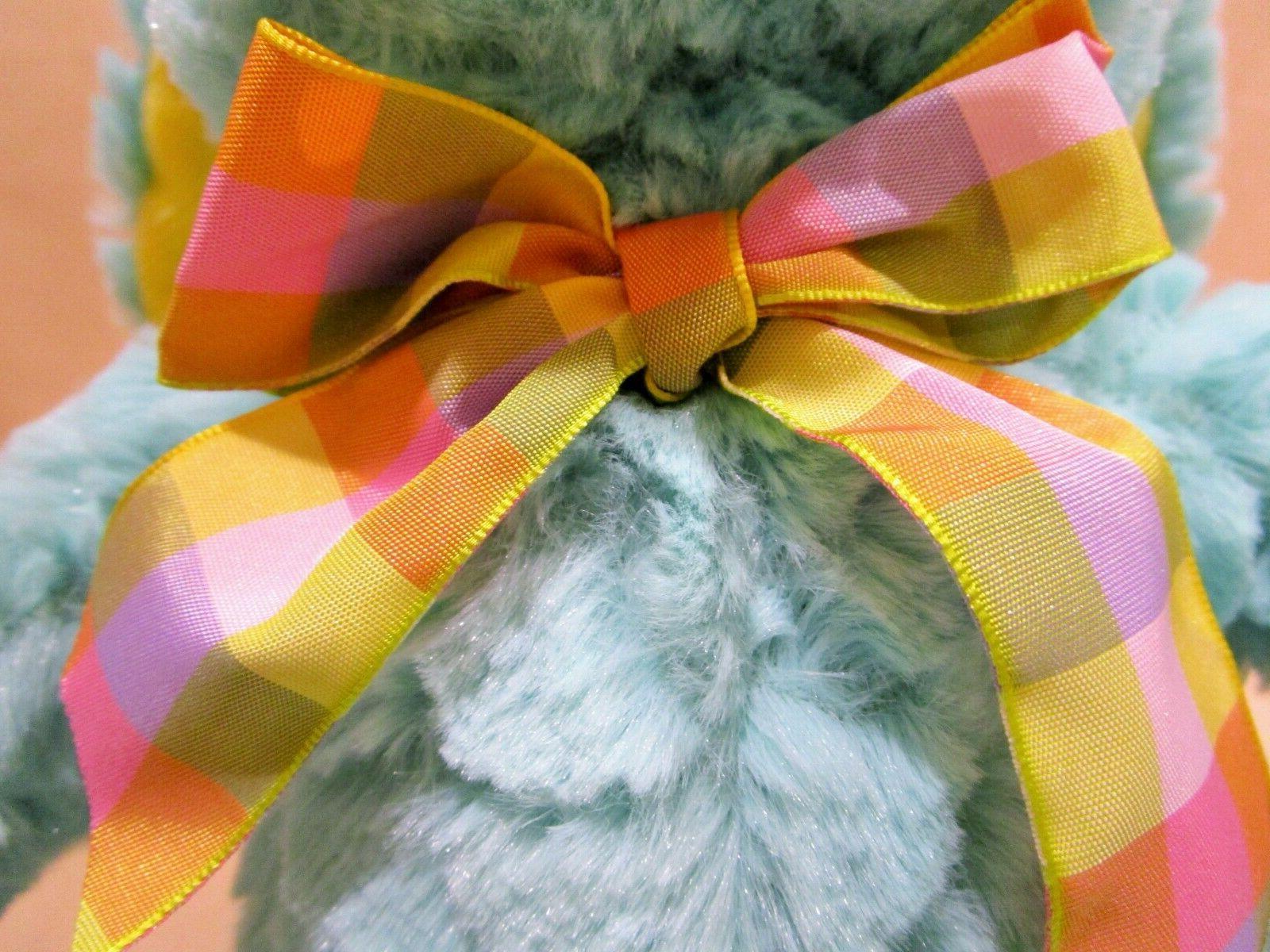 Aqua yellow Bunny Rabbit Baby NEW w/ TAGS