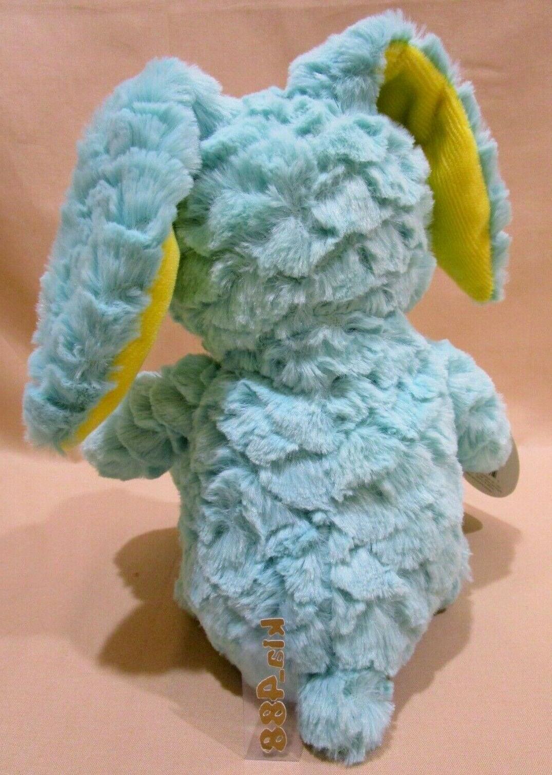 Aqua Easter Bunny Rabbit Stuffed Animal Baby w/