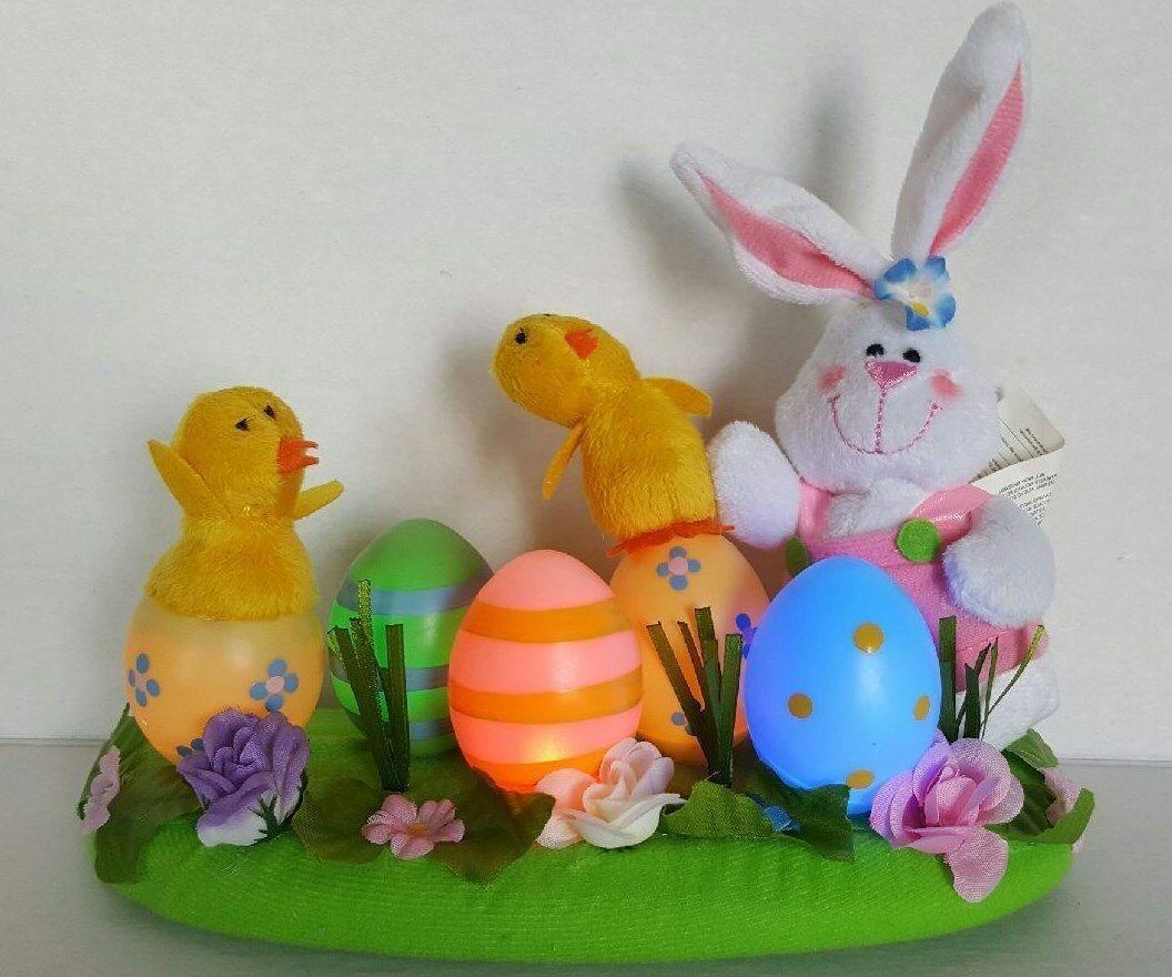 Avon Bunny, Eggs Centerpiece