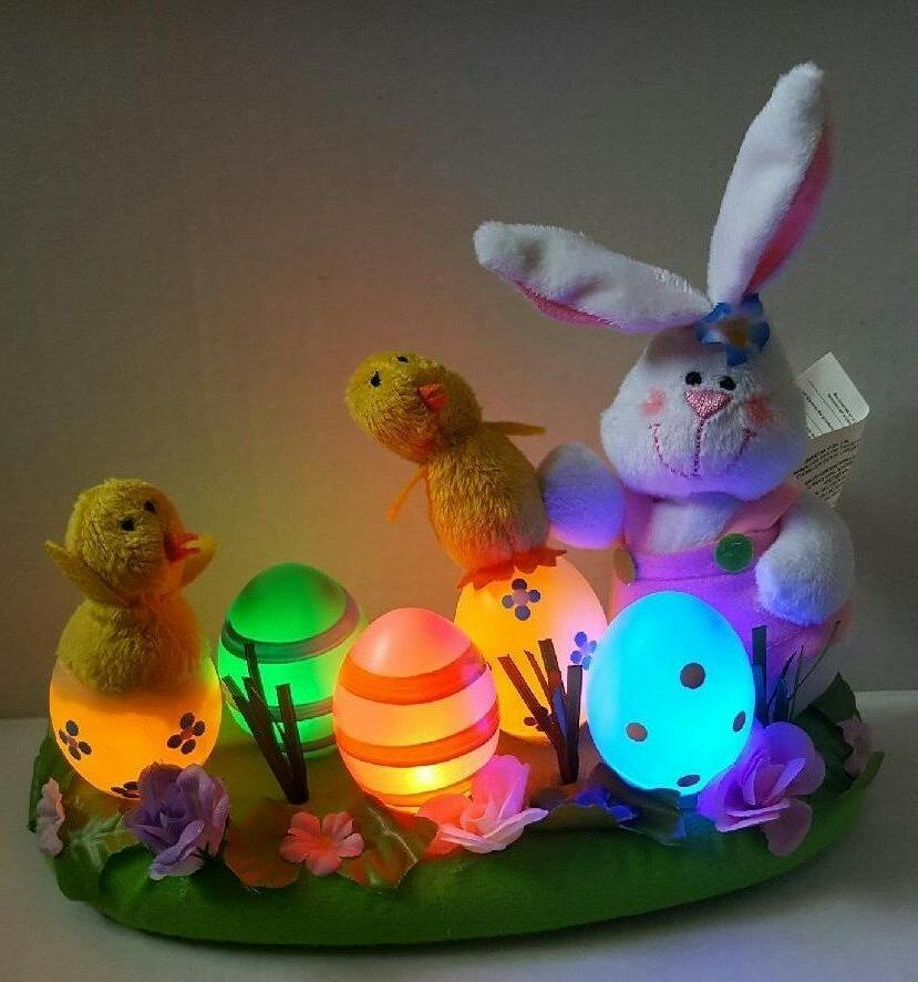 Avon Up Bunny, Chicks, and Eggs Centerpiece