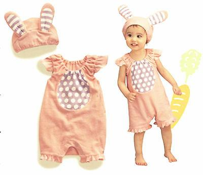 Baby Kids Girl Child Easter Bunny Rabbit Party Costume Rompe