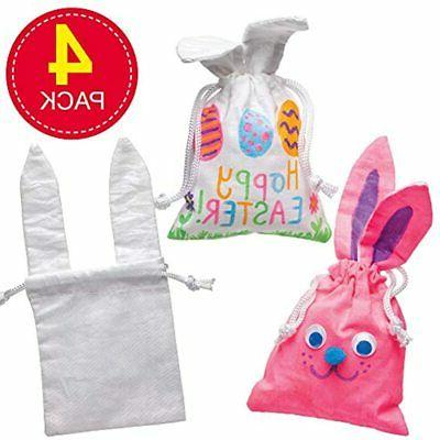 Baker Drawstring Bags Easter Crafts Kids To