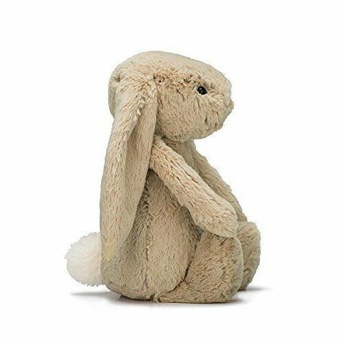 Jellycat Bashful Beige Bunny Stuffed inches