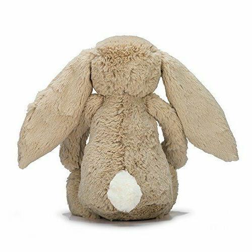Jellycat Bashful Beige Bunny Stuffed Animal, inches