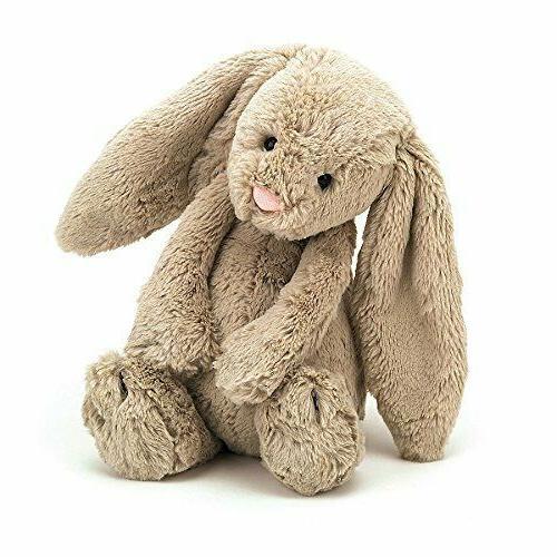 bashful beige bunny stuffed animal medium 12