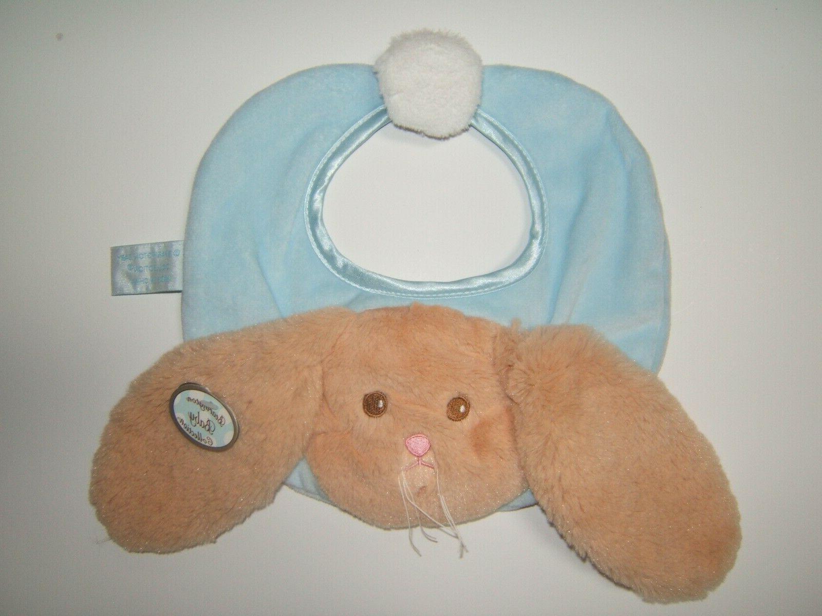 Bearington Collection Bunny Tail Soft Bib