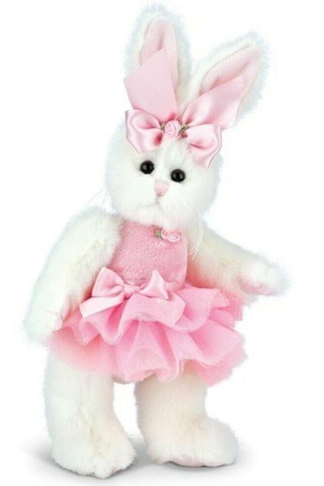 bearington plush 10 inch rabbit bunni ballerina