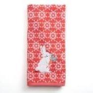 Celebrate Easter Together Bunny Butt & Flower Tip Towel 11in