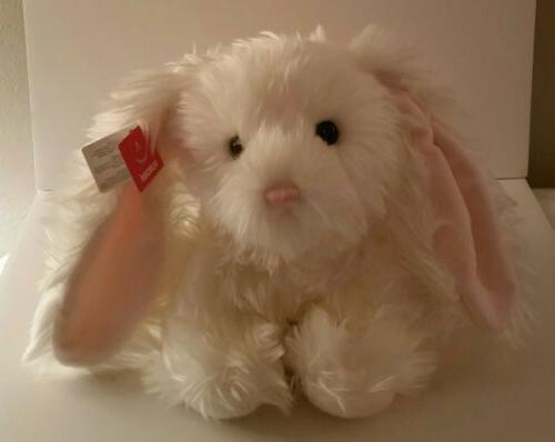 bunny plush luxe white bunny rabbit stuffed