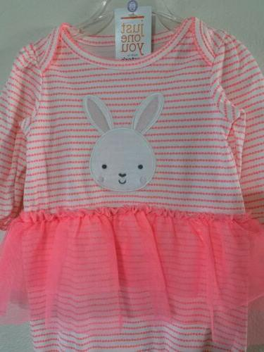 Carters One Easter Bunny Tutu Outfit Baby Girl 6 Months NWT