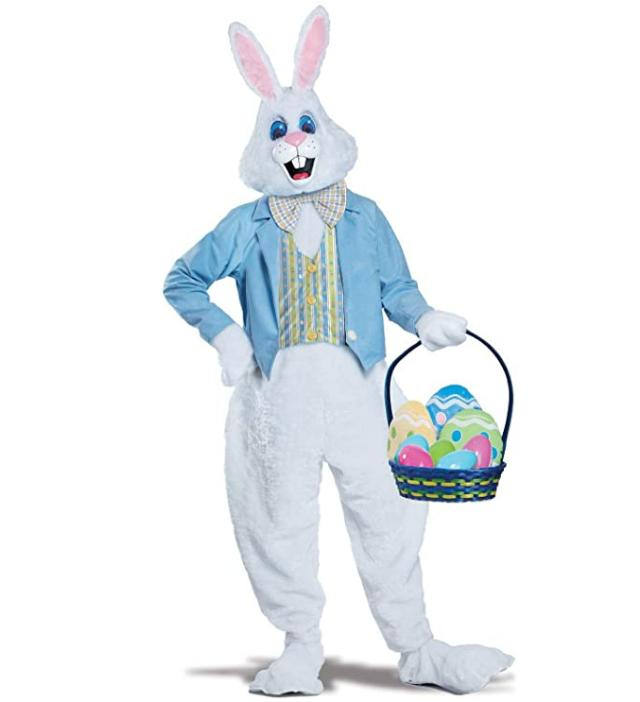 deluxe men s easter bunny costume small