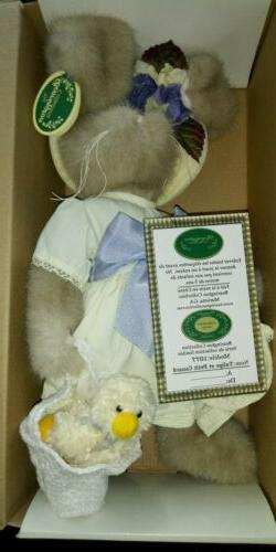 Easter Bunny Bearington Collection 14 in Tulip The Bunny and