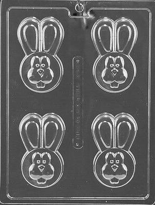 EASTER BUNNY COOKIE mold Chocolate Candy soap making covered