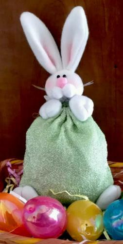 Easter Goody Tote Cute Green
