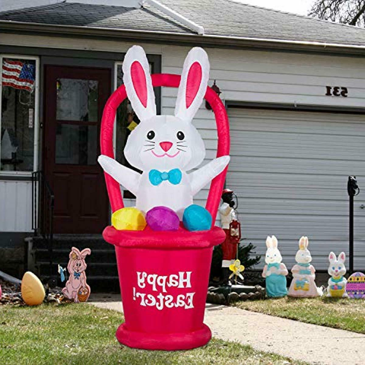 EASTER LAWN RABBIT FT