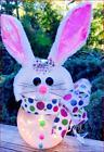 Easter Bunny Night-Light-Lamp handmade so adorable!