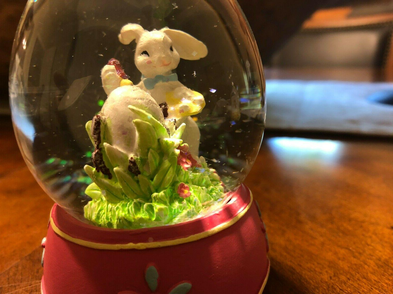 Easter Egg Snow Globe Spring New