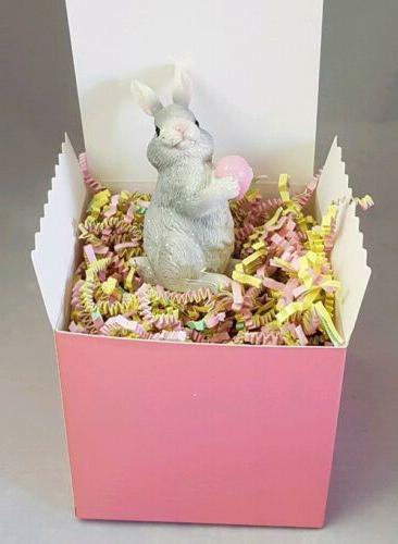Easter Pink Figurine Spring Decor Charm