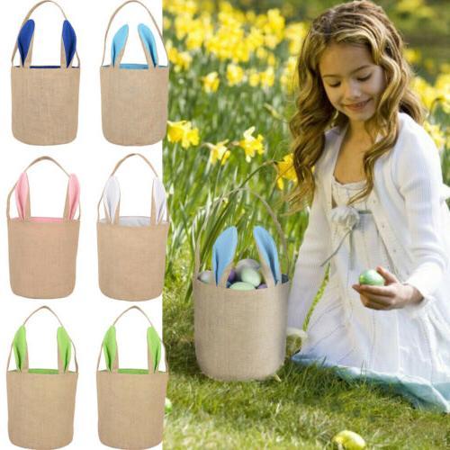 easter bunny rabbit ear gift bag egg