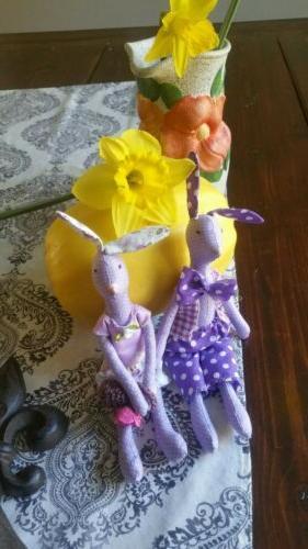 Easter stuffed. Price bunny.