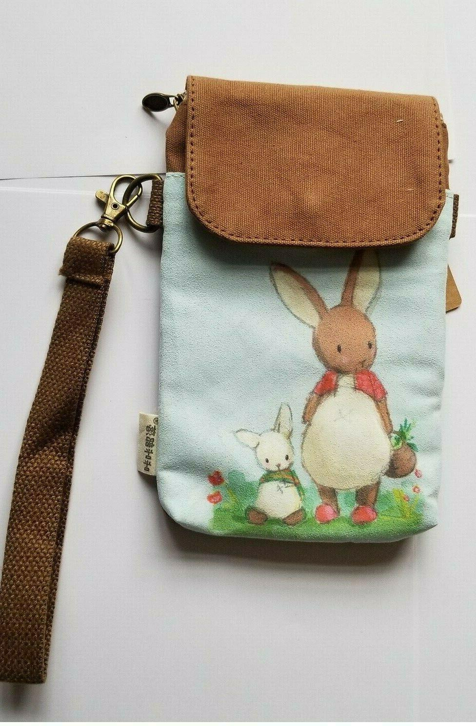 *Easter Bunny* Bag Pouch Wallet