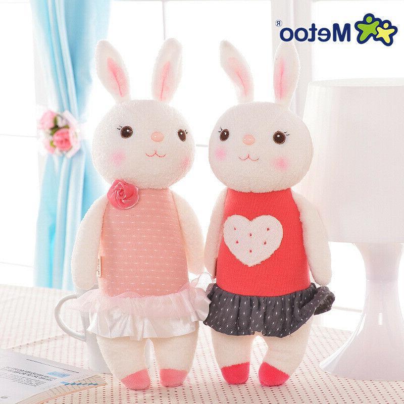Easter Bunny Plush Toys Rabbit Animal Kids Doll