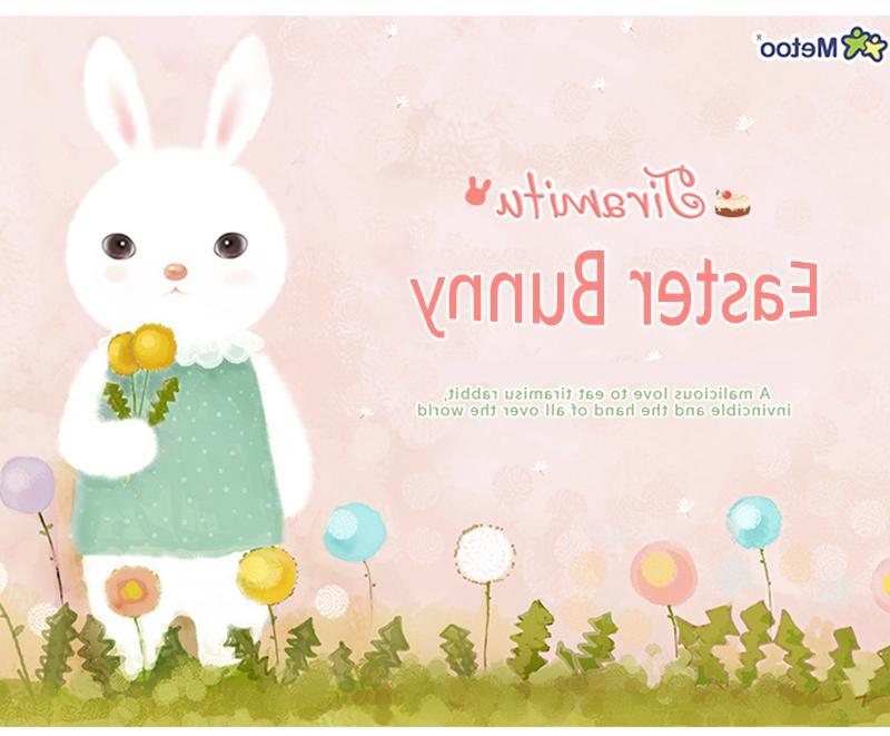 Easter Bunny Plush Toys Stuffed Animal Kids Gift Doll