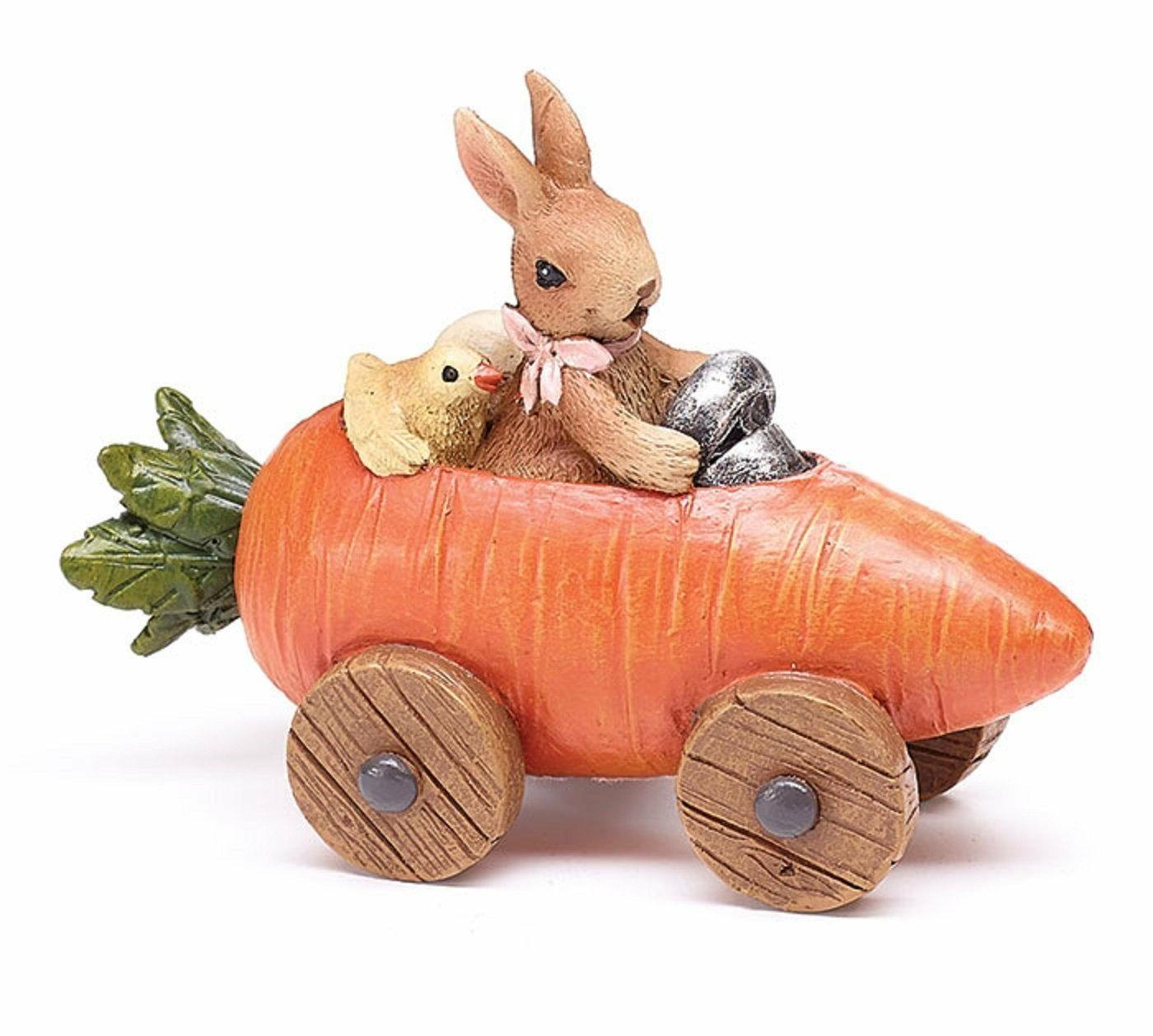 easter decoration bunny chick carrot