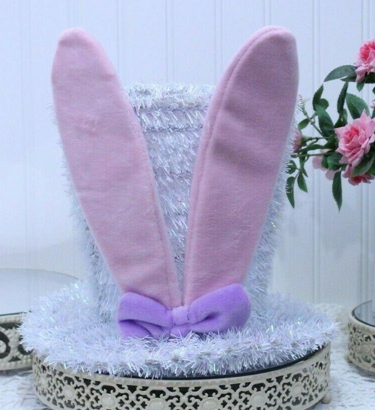EASTER with Ears Metal Frame Home