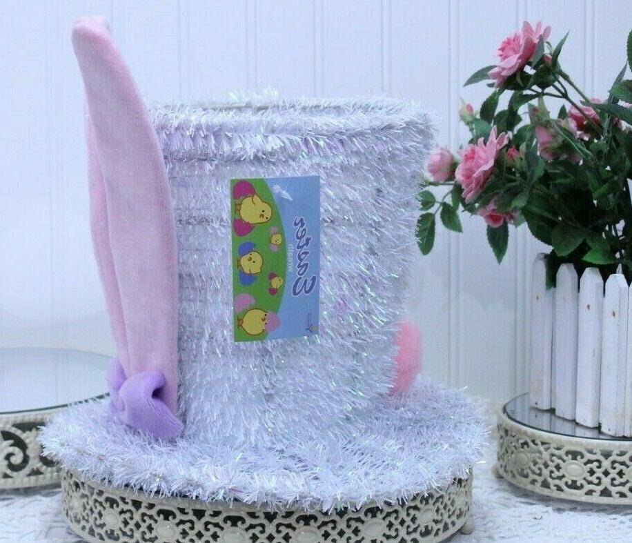 EASTER with Ears Frame Tabletop Home Decor L-59