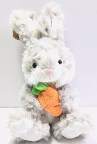 "Ganz Baby Plush Dusty Bunny Toy 9"" Lovey"