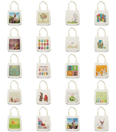 Ambesonne Easter Bag Reusable Shopping