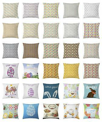 easter throw pillow cases cushion covers by