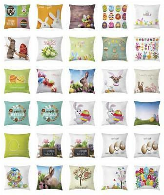 festive easter throw pillow cases cushion covers